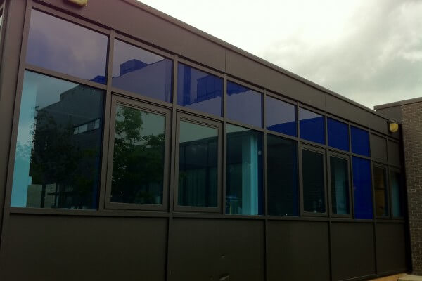 opaque coloured film, coloured window film