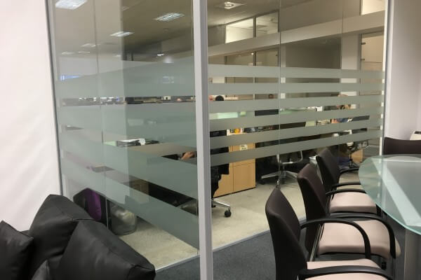 glass partitions, office partitions, glass design