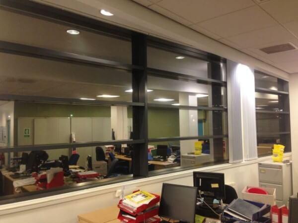 Silver Reflective Solar Control Window Film – Liverpool