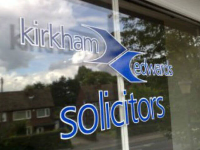 cut vinyl window graphics, logos, branding