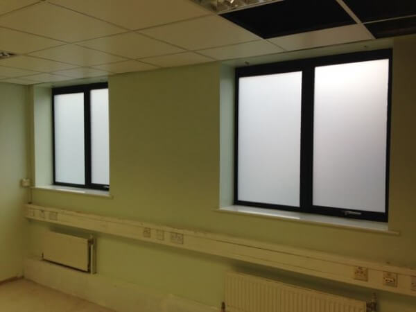 Frosted Privacy Window Film – All areas