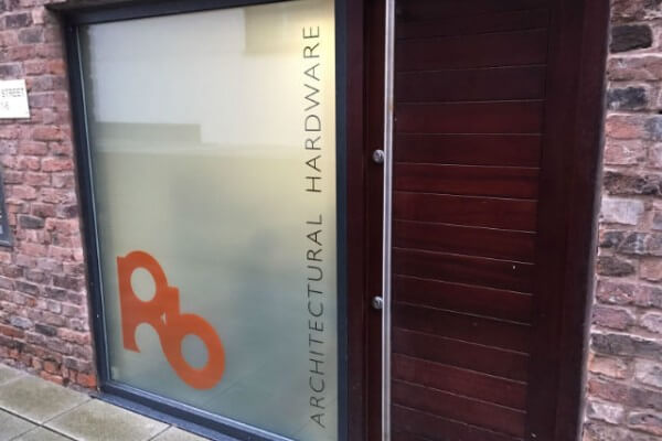 opaque privacy window film graphic visuals office merseyside