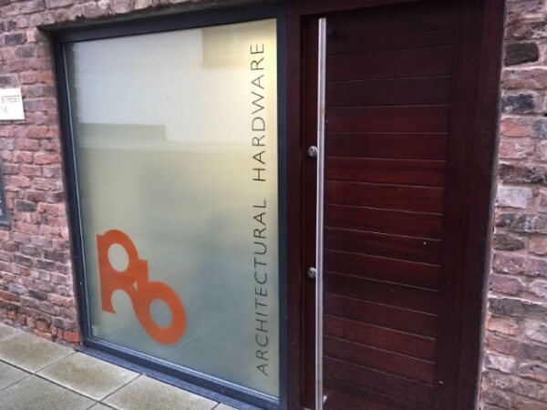 Opaque Privacy Window Film & Graphic Visuals – Liverpool