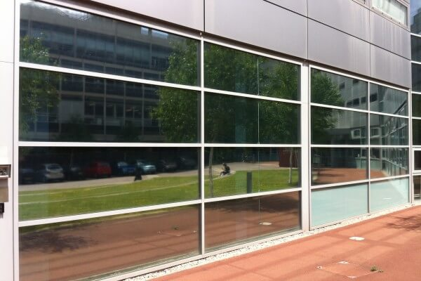 silver reflective window film