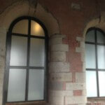 Sandblast Privacy Window Film – Burnley