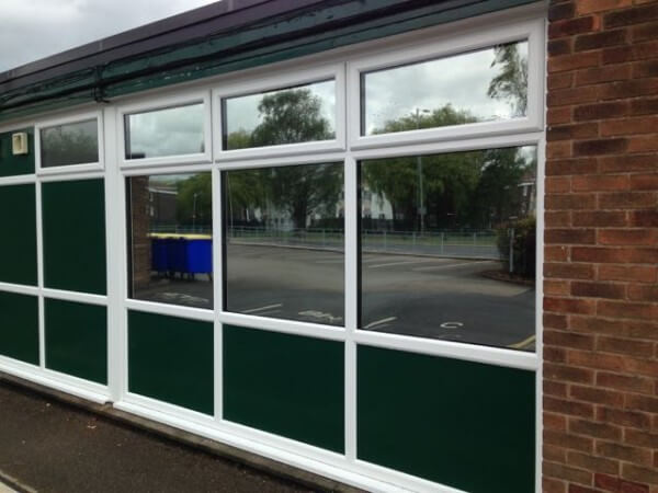Silver Reflective Solar Control Window Film – Runcorn