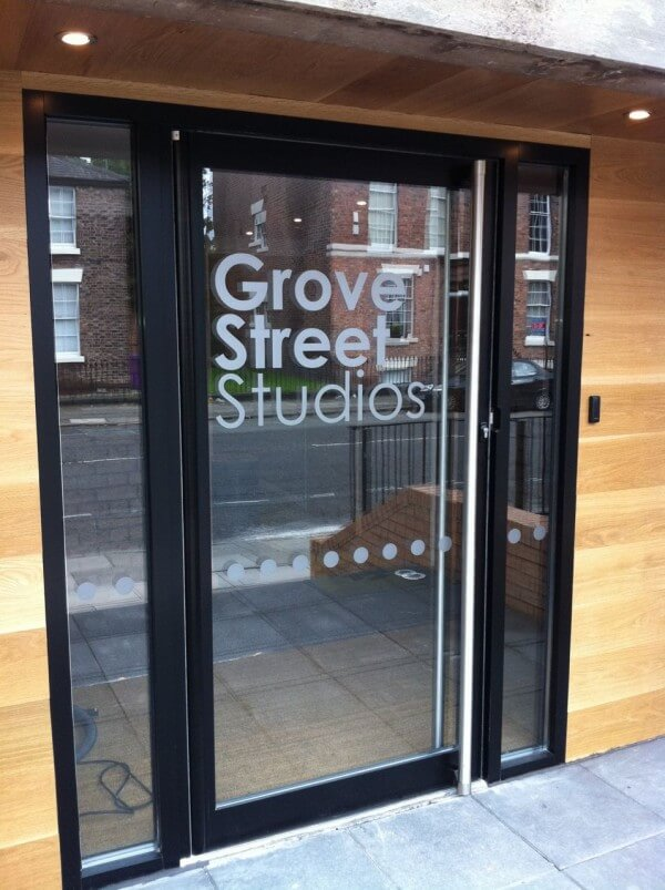 Glass and Cut Vinyl Graphics – Liverpool