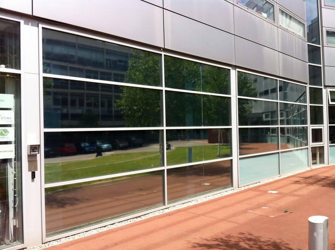 solar control silver reflective window film