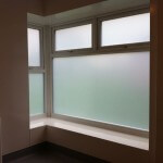 Sandblasted Privacy Window Film – Chester