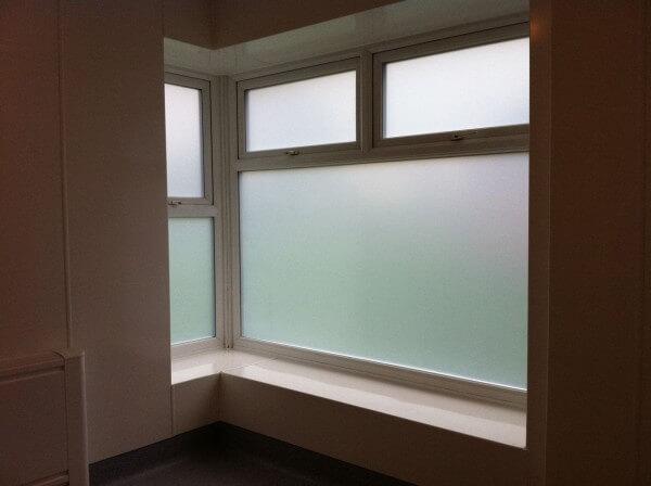 Sandblasted Privacy Window Film – Chester