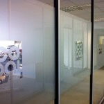 Frosted Glass Partition Graphics – Salford