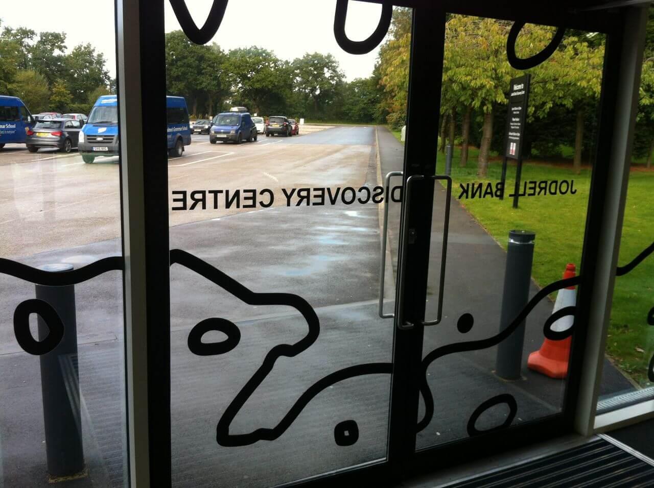 window graphics jodrell bank window films 2000