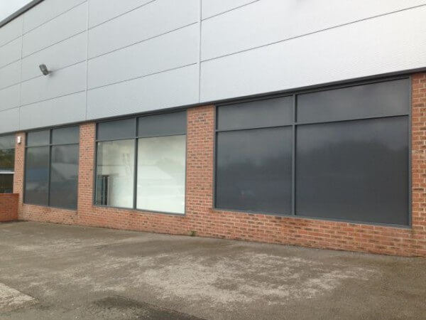 Colour Change RAL 7016 Window Film – Cheshire