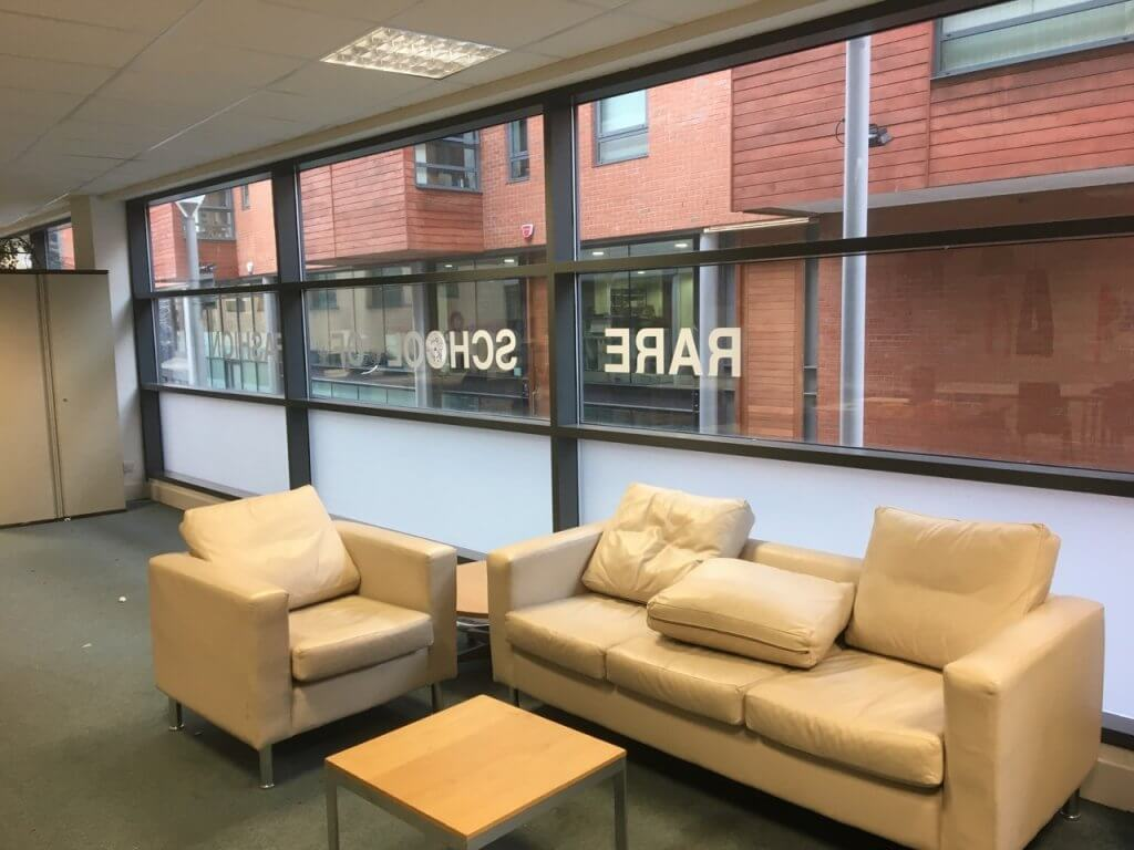 Privacy Window Film - Liverpool