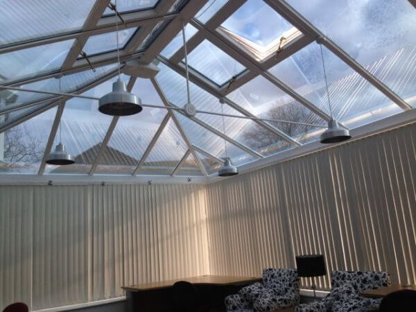 Conservatory Mirror Window Film – Heat and Glare Reduction – Cheshire