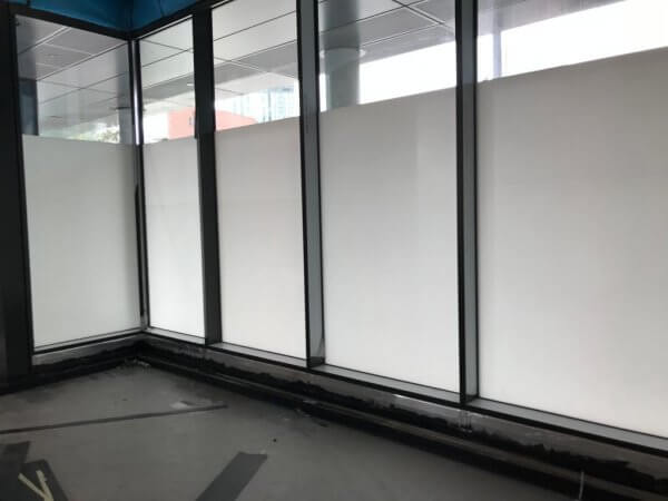 Temporary Privacy Window Film  – Manchester